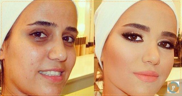 Maquiagem surpresa