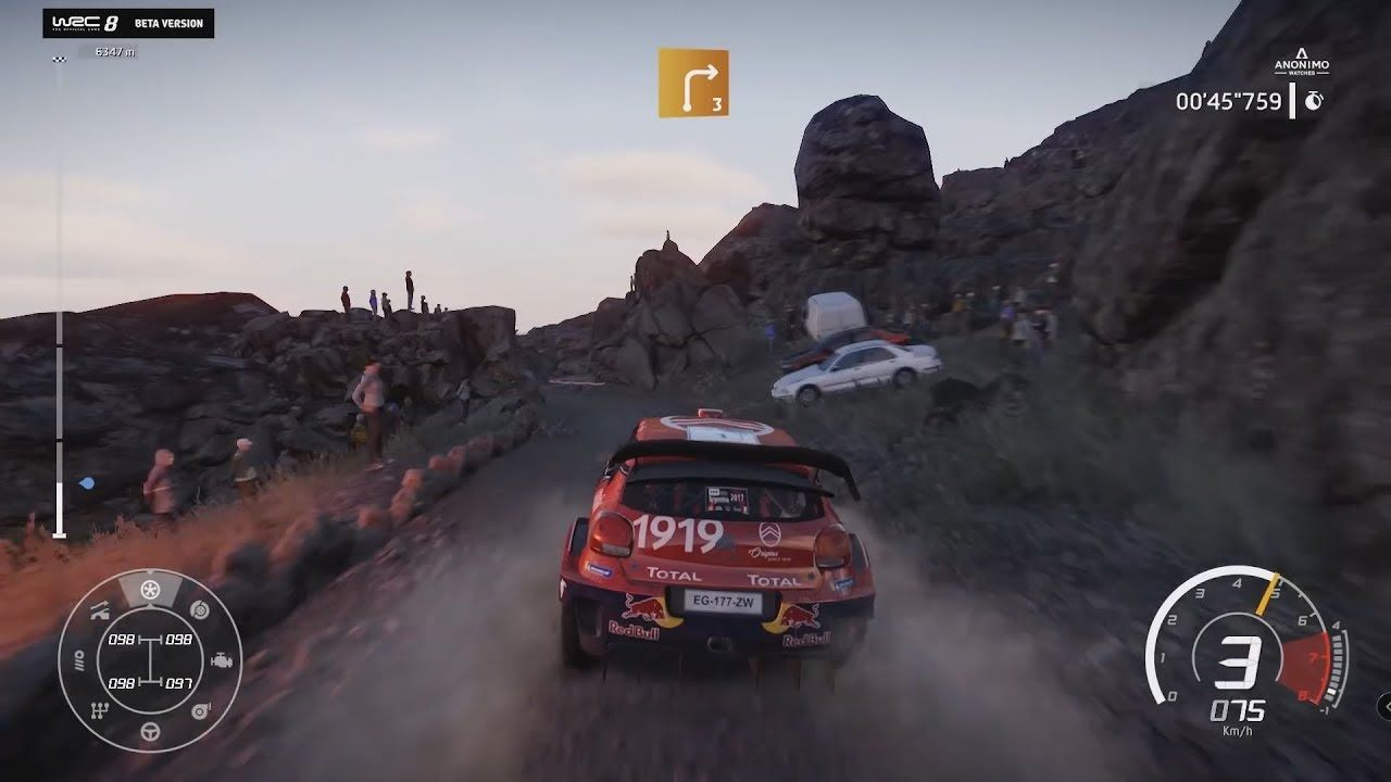 Wrc 8 Rally Argentina Gameplay From Beta Met Afbeeldingen