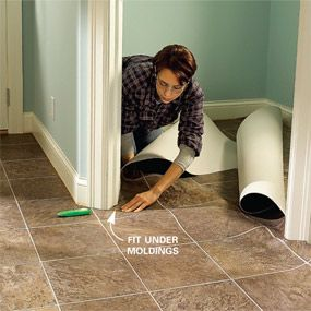 Install Vinyl Flooring In A Laundry Room Pinterest Laundry Rooms - Installing vinyl flooring in bathroom
