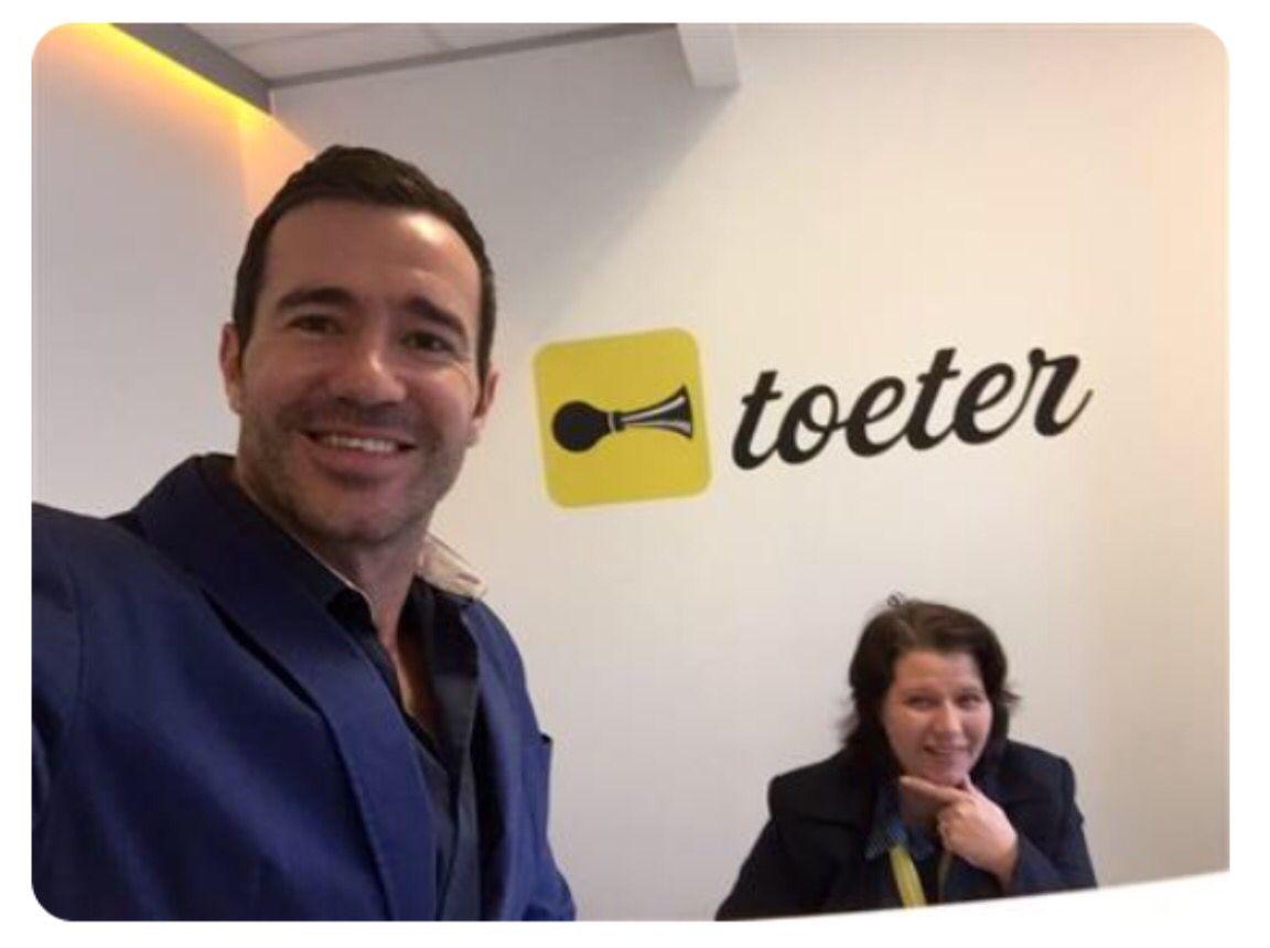 Toeter besoek Mr SA finalis