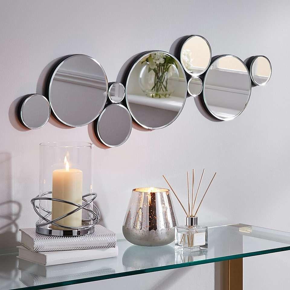 Multi Circles Mirror Dunelm Circle Mirror Wall Mirror Decor