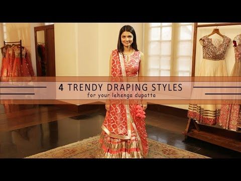 80a3e9184acb5 How To Wear Your Lehenga Dupatta In Different Styles