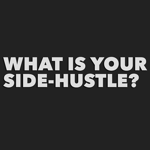what is your side hustle during the winter months