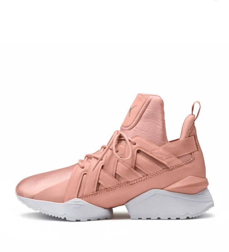 site réputé 47fff af377 Muse Echo Satin En Pointe Shoes~PUMA | Sport