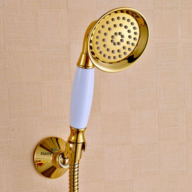 Golden shower head, beautiful big boob juggs