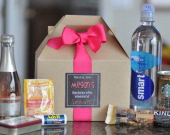 Bachelorette Party Survival Box Set Of