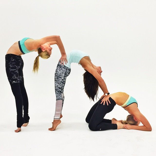 Pin By Pauline W On Yoga Three Person Yoga Poses Beautiful Yoga Poses Couples Yoga