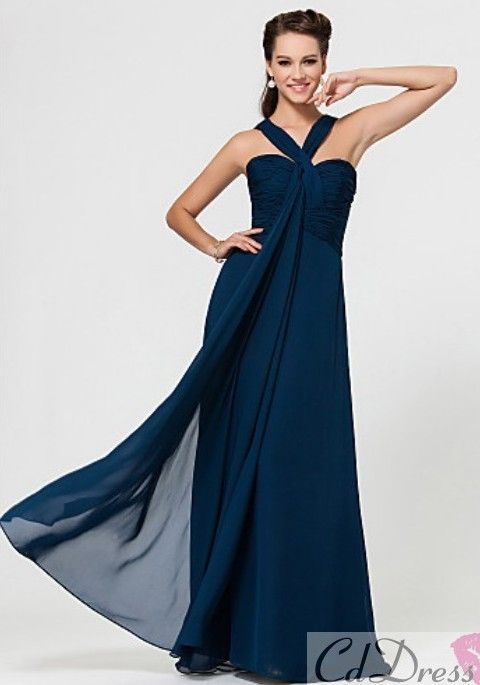 bridesmaid dress - would love this in navy