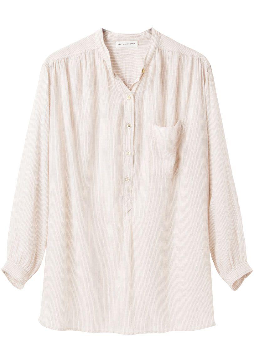 Isabel Marant toile  Xanti Henley Shirt  |   La Gar�onne | La Garconne