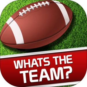 Whats the Team? Free American Football Club Word Pic