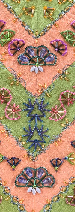 Beaded symmetry  - most of the designs are suitable for CQ, especially the fans.