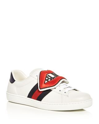 5a991a8d850c GUCCI Ace Lace Up Sneaker with Removable Patches.  gucci  shoes   Gucci Men