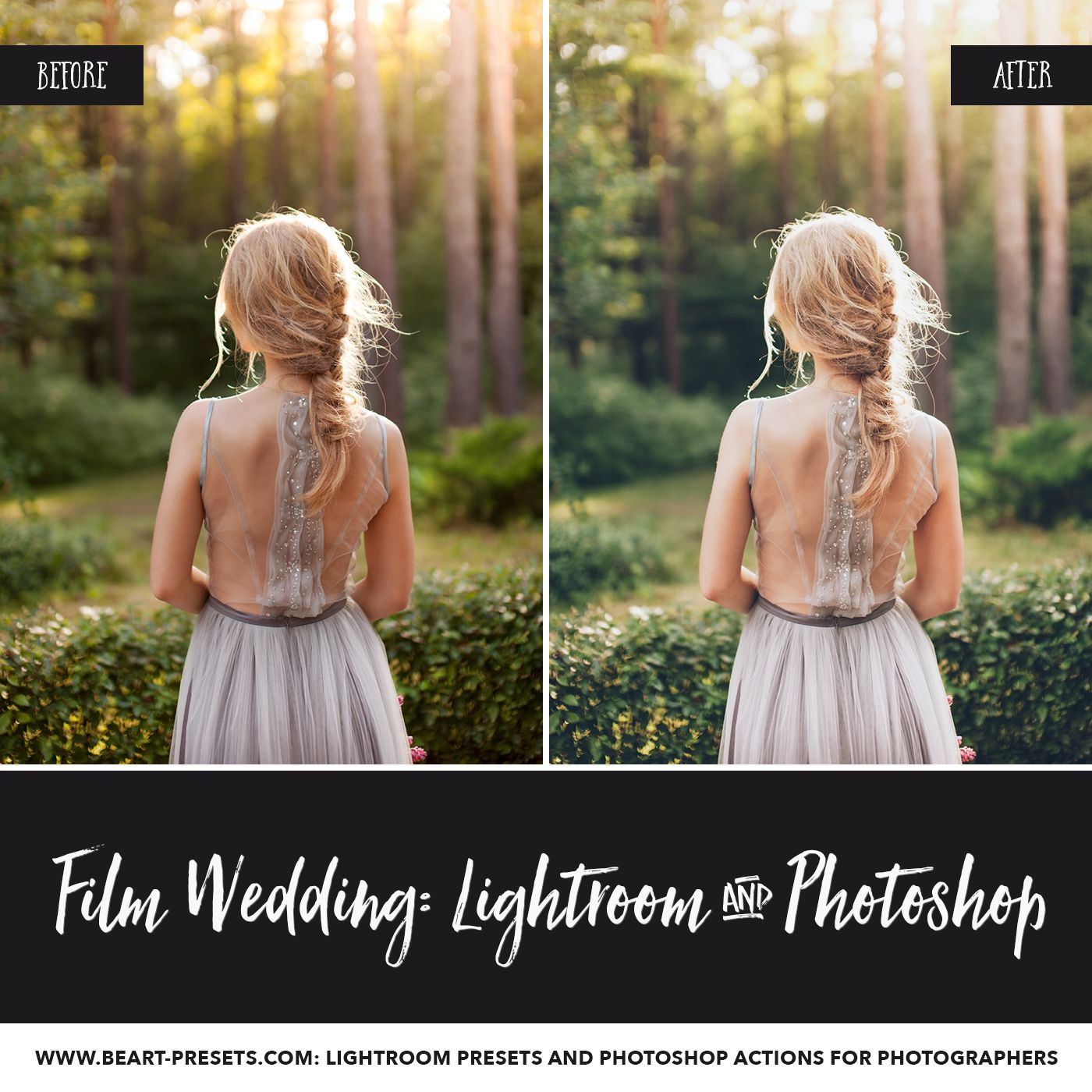 Film Wedding Lightroom Presets Photoshop Actions And Acr