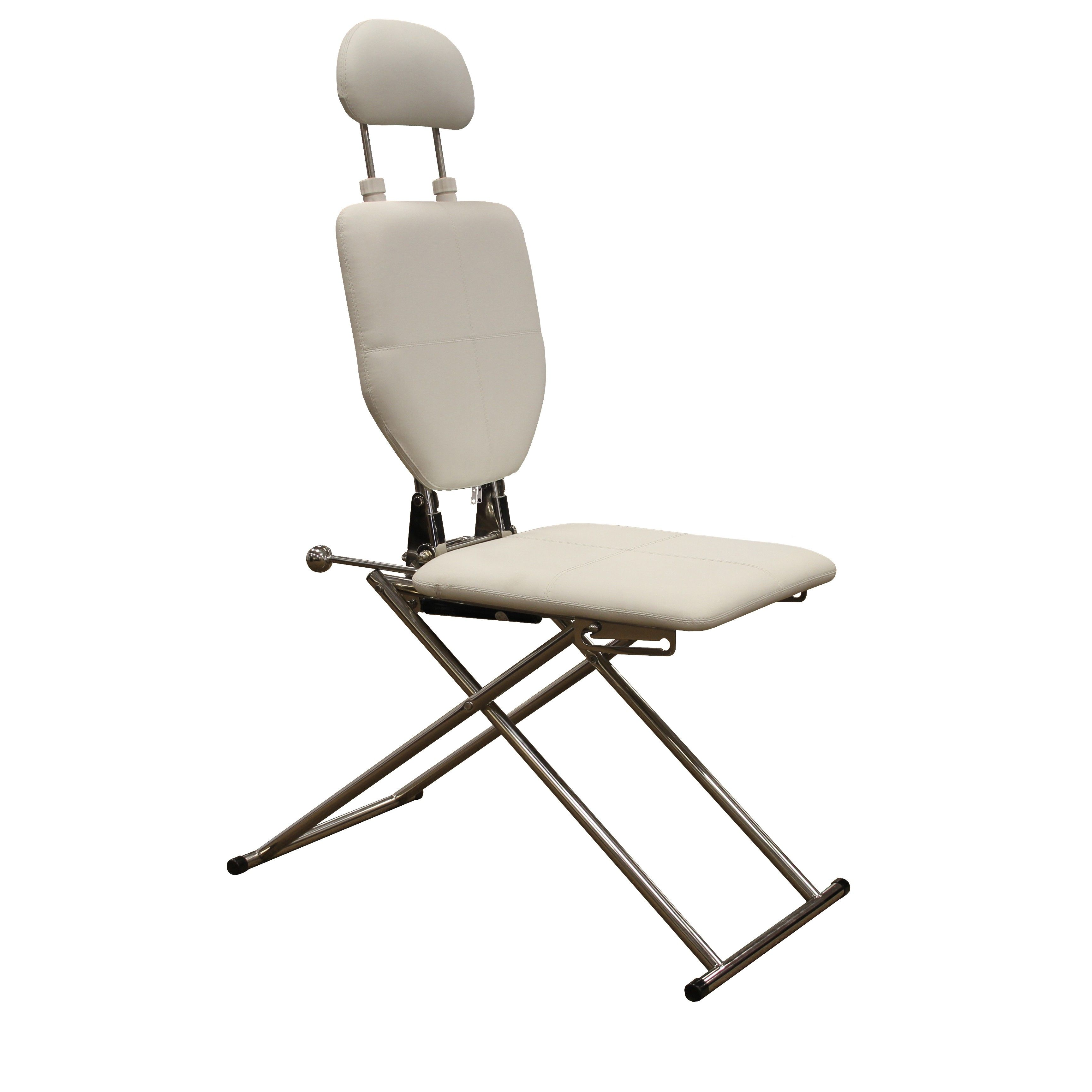 The Mobile Shampoo Facial Chair in White by Minerva Beauty
