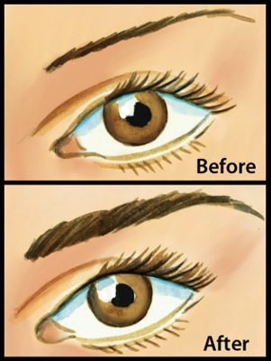 Helps Sparse Or Over Tweezed Brows Grow Back Eyebrows How To