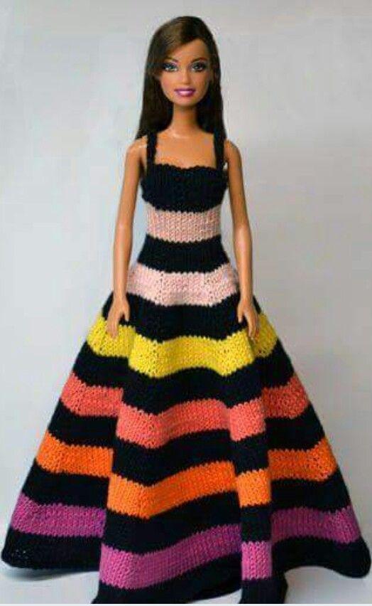 Oyuncak elbiseleri #crochetedbarbiedollclothes