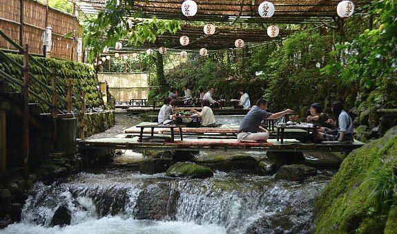 Image result for Kibune and Kawadoko Restaurants in Kyoto