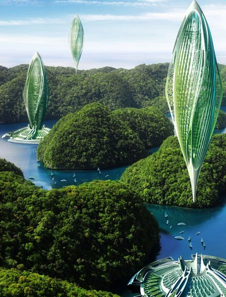 Called hydrogenase by vincent callebaut the project envisages that by 2030 there could be farms