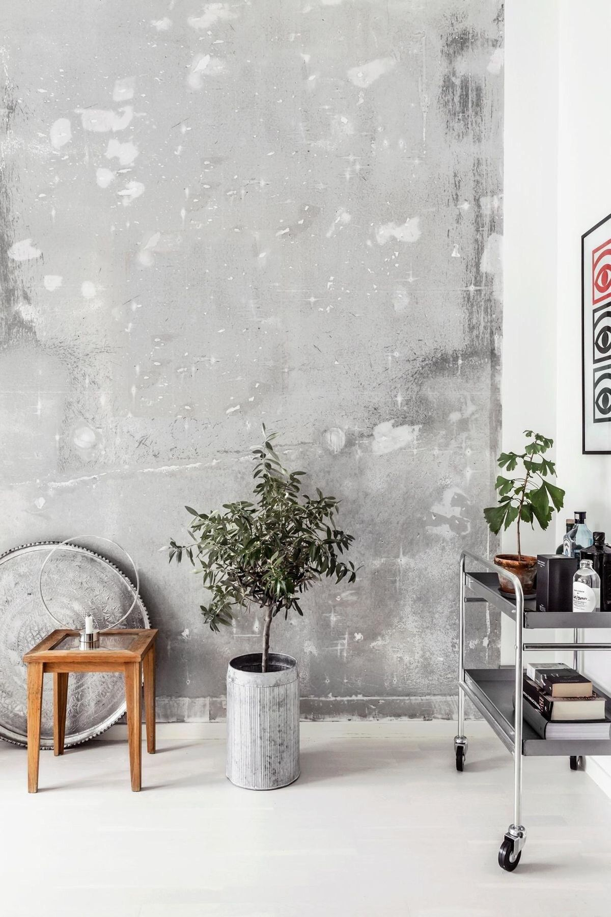 Wabi Sabi Interior Decor   The Latest Wall Finishes Trends   Raw Concrete  Walls