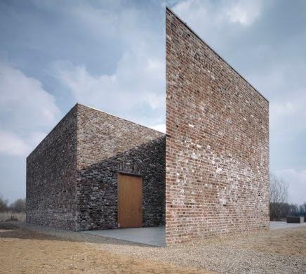 Alvaro Siza And Rudolf Finsterwalder Insel Hombroich Foundation Hombroich Germany Architecture Brique Architecture Architecture Contemporaine