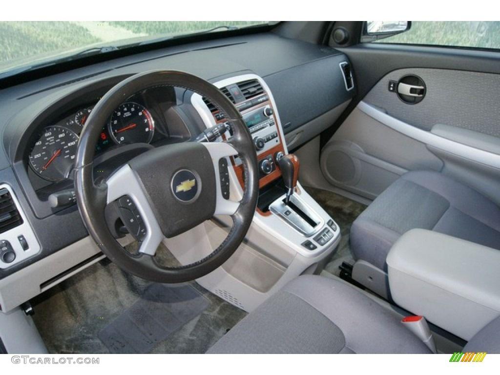 2007 Chevrolet Equinox Lt Awd Light Gray Dashboard Photo 61006909