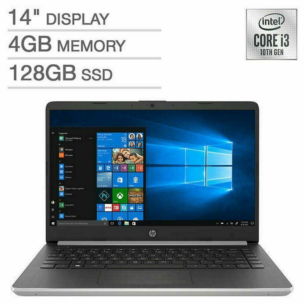 Hp 14 Dq1033cl Core I3 1005g1 1 2 Ghz Win 10 Home In S Mode 4 Gb Ram 128 Gb Ssd 14 Ips 1920 X 1080 Full Hd Uhd Graphics 802 11ac Bluetooth Intel Core Hp 17 Ssd