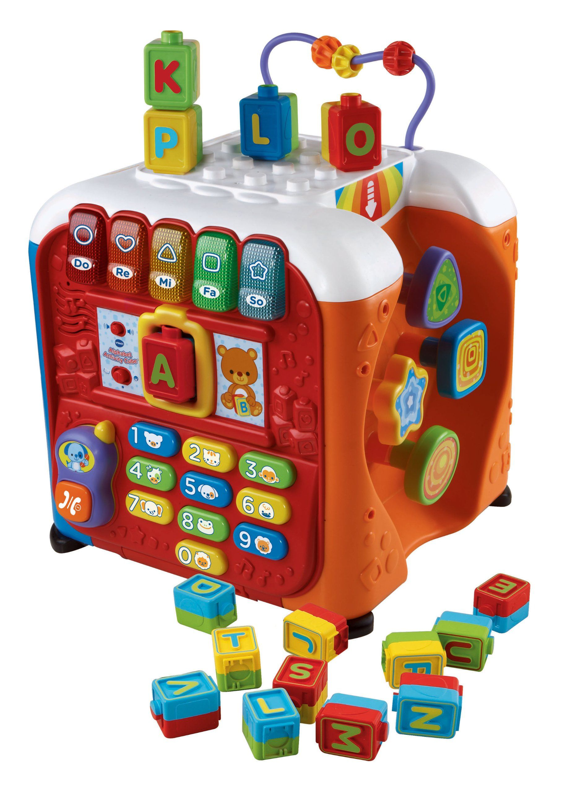 354e0bda4 Amazon.com  VTech Alphabet Activity Cube  Toys   Games