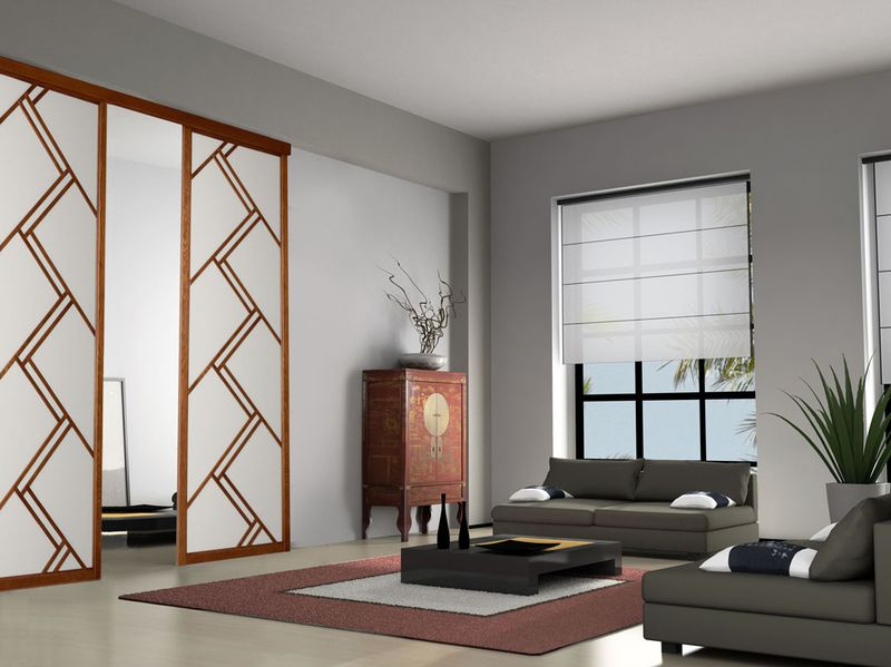 panneaux japonais bois panneau