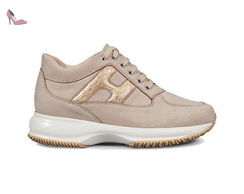 pas cher pour réduction 080c0 fecb8 HOGAN INTERACTIVE BEIGE, Femme, Taille 37,5. - Chaussures ...