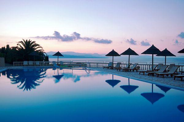 pantokrator hotel, corfu, greece