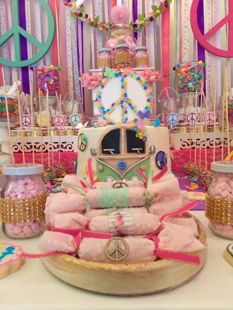 hippie chic birthday party ideas hippie chic hippie style and party ideas. Black Bedroom Furniture Sets. Home Design Ideas