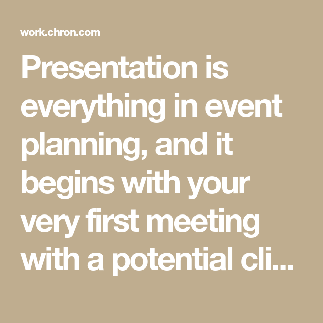 How To Put Together An Event Planner Portfolio