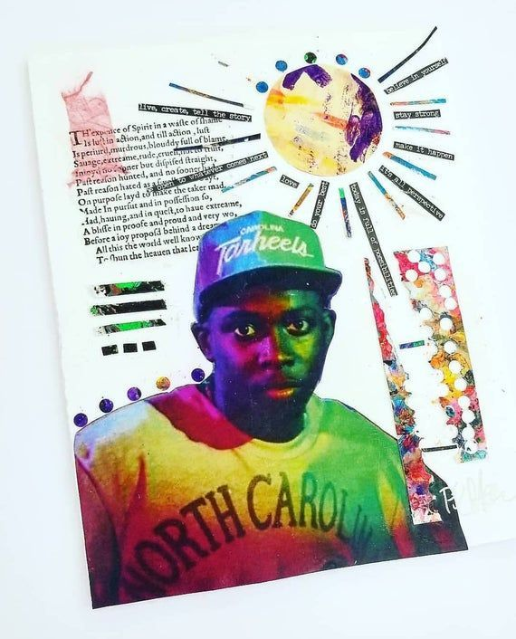 Phife Dawg Rap Music Collage Collage Work Contemporary Art Interior Design Music Tribe Called