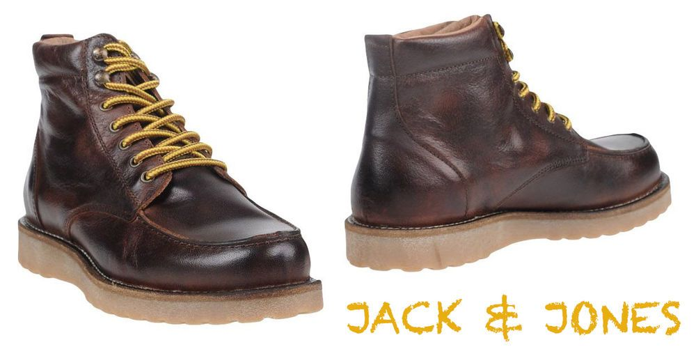 5cfdef45e0d New $189 jack & jones handmade in portugal ankle boots. sz 10/43 m ...