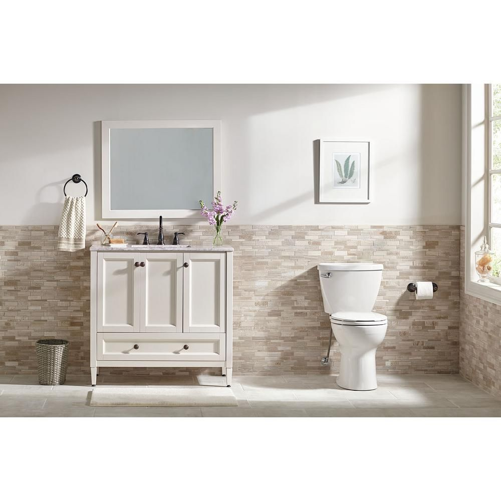 Home Decorators Collection Claxby In W X In D Bath Vanity - 36 x 19 bathroom vanity for bathroom decor ideas