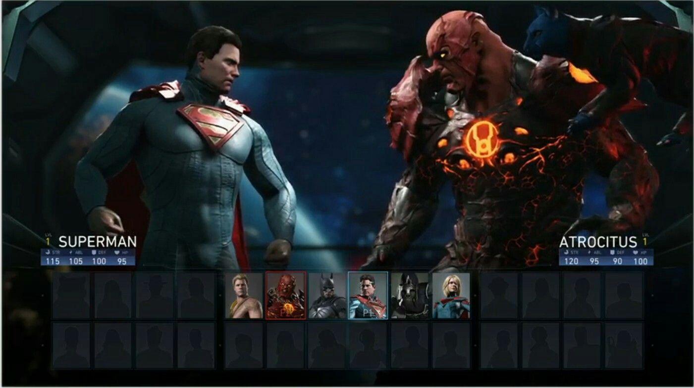 Superman Vs Atrocitus Best Superhero Dc Icons Green Lantern