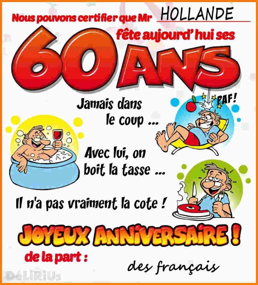 carte anniversaire homme 60 ans Carte D'anniversaire A Imprimer Gratuitement 60 Ans Fresh Image