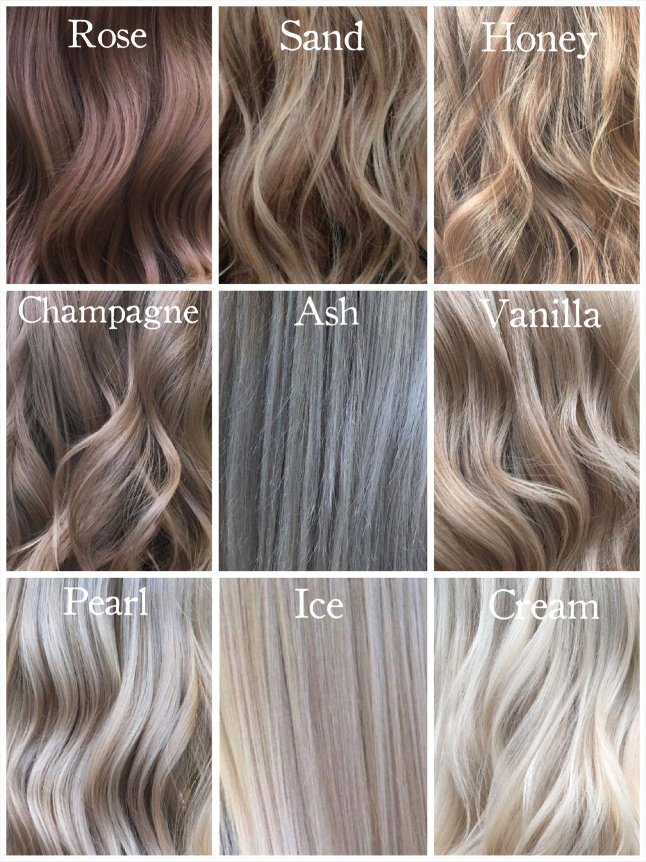 Shades Of Blonde Milenashairdesign Hairinspiration Curls Shadesofblonde Roseblonde Sandblonde Vanillablo Champagne Hair Color Champagne Hair Hair Styles