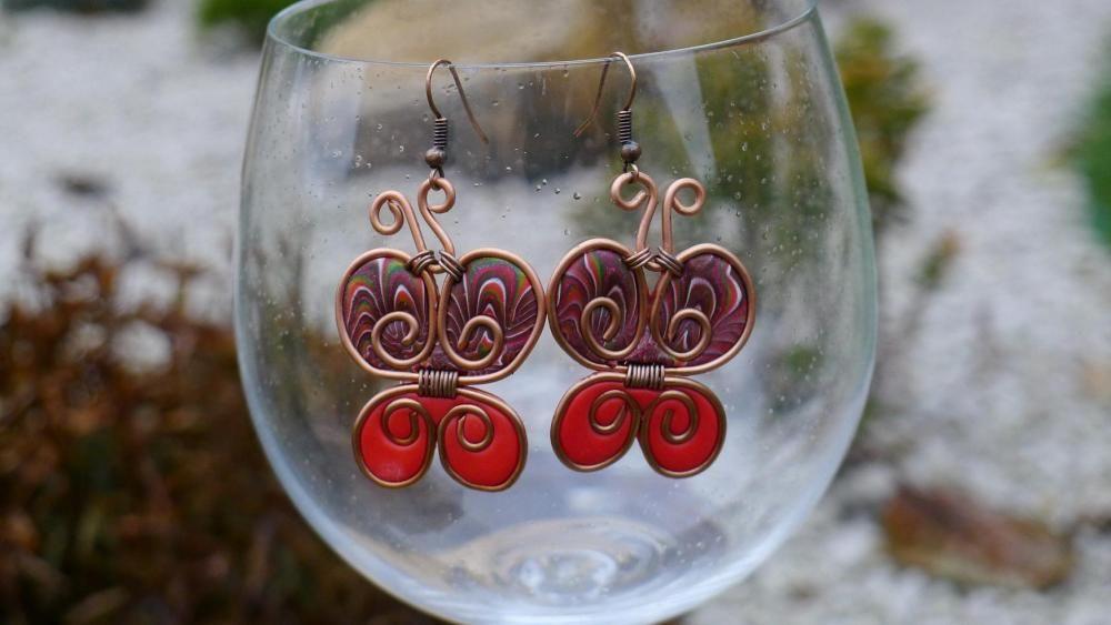 Červené motýliky od jenirell