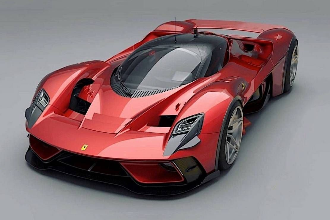 Ferrari F399 Hypercar Concept Wordlesstech In 2020 Concept Car Design Super Cars Ferrari