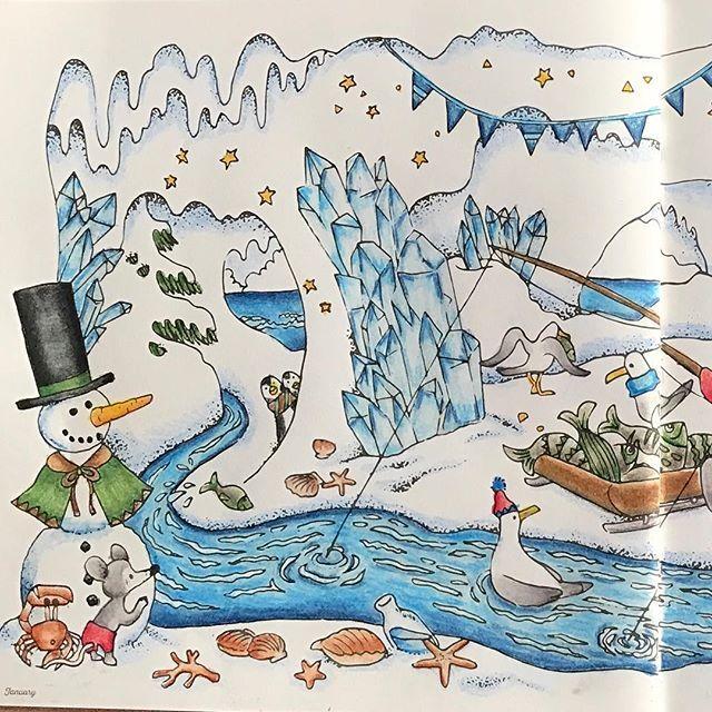 #fantasyseason #fantasyseasoncoloringbook #yukakoohde