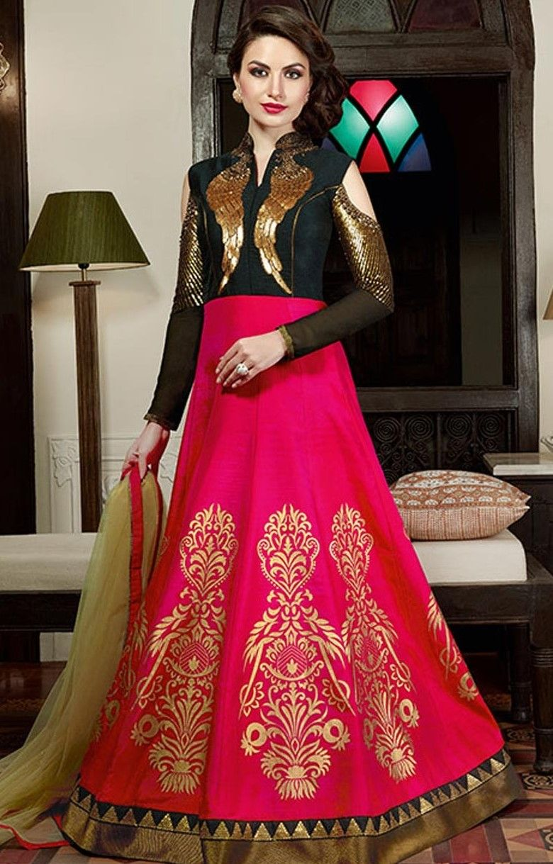 Latest bridal gown designs new trends ethnic wear pinterest