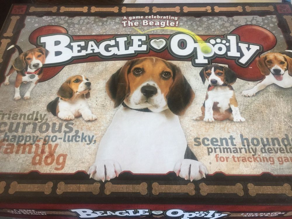 Beagle Opoly Board Game Beagle Beagle Beagle Board Games Games