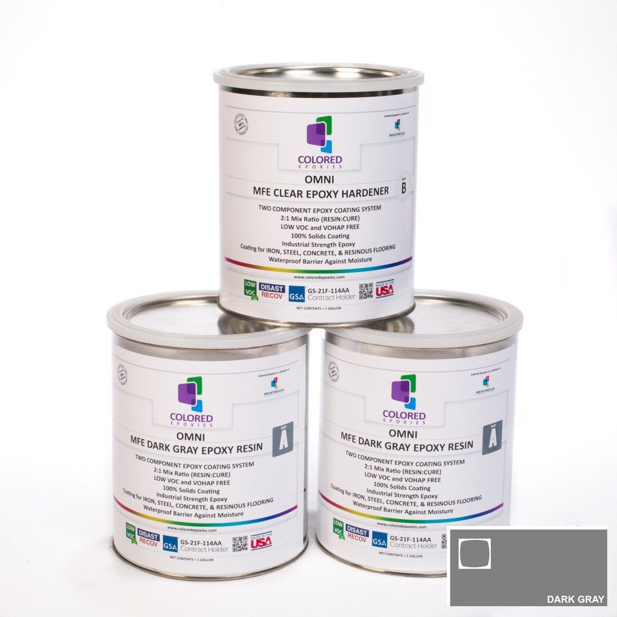 Colored Epoxy Resin Kit Colored epoxy, Colored epoxy