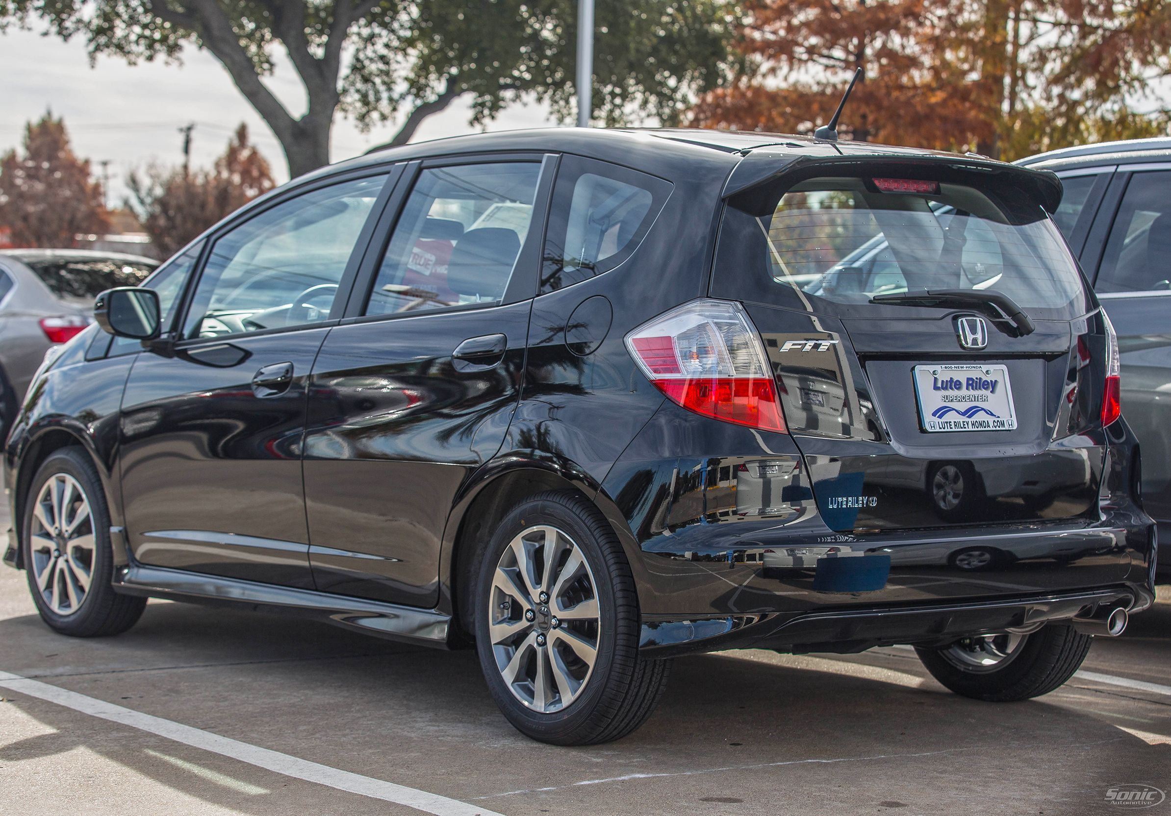 Easy to park the honda fit offers plenty of cargo space
