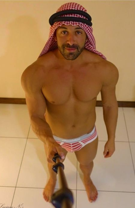 Nude arab guy famous