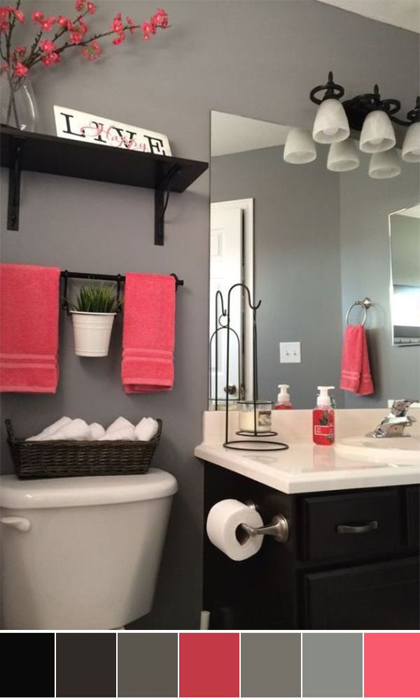 best bathroom color schemes