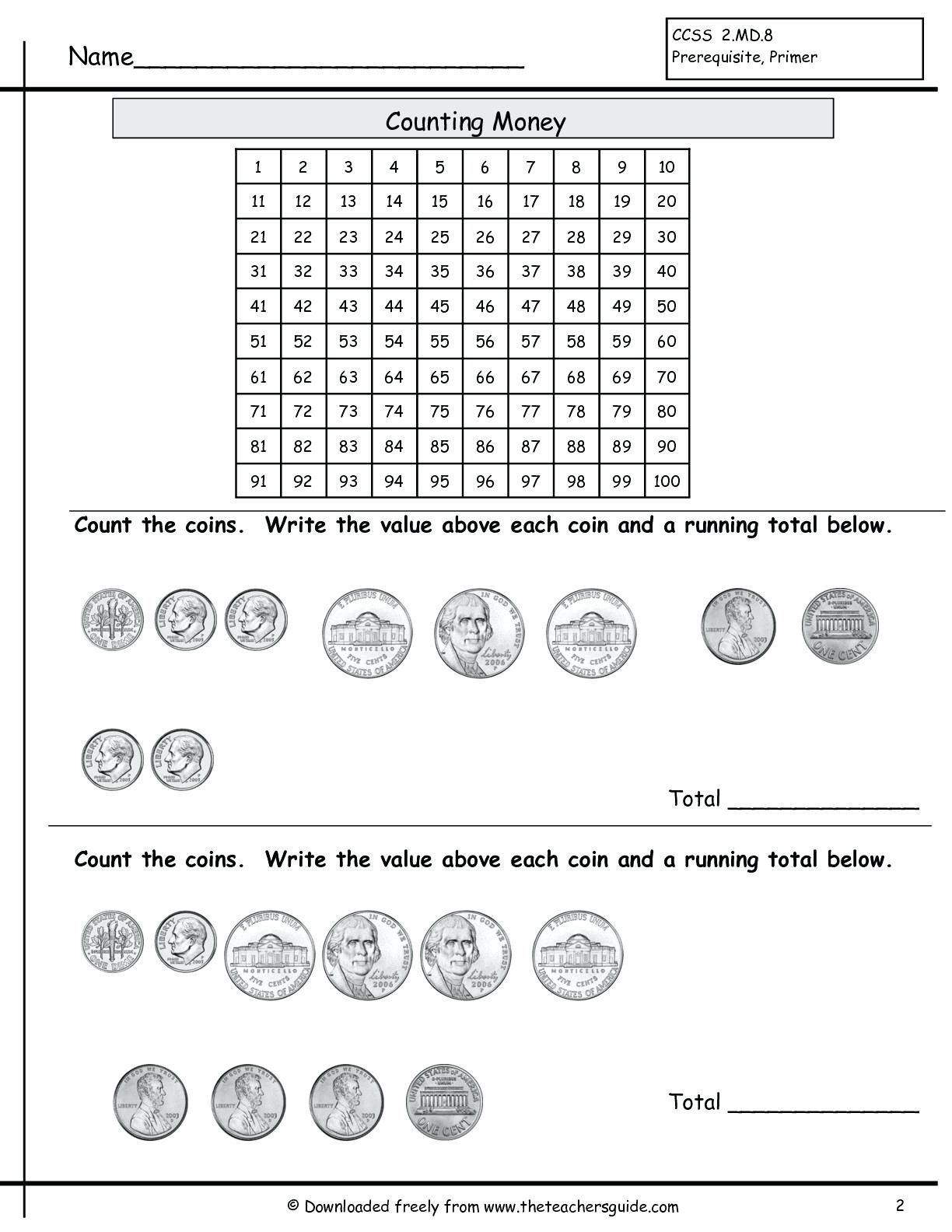 5 Free Math Worksheets Second Grade 2 Counting Money Money Words To Numbers 3 Free Math Wor In 2020 Free Math Worksheets Math Worksheets Free Printable Math Worksheets [ 1584 x 1224 Pixel ]