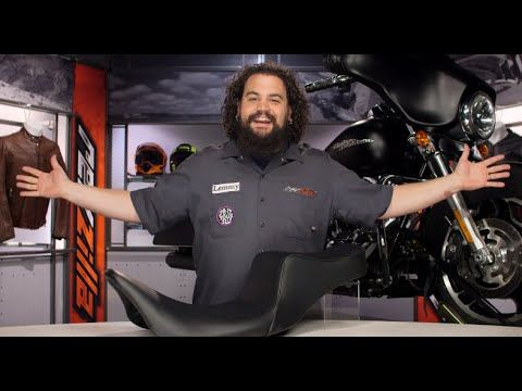 Le Pera Cherokee Seat For Harley Review At Revzilla Com Revzilla Sportster Harley Dyna