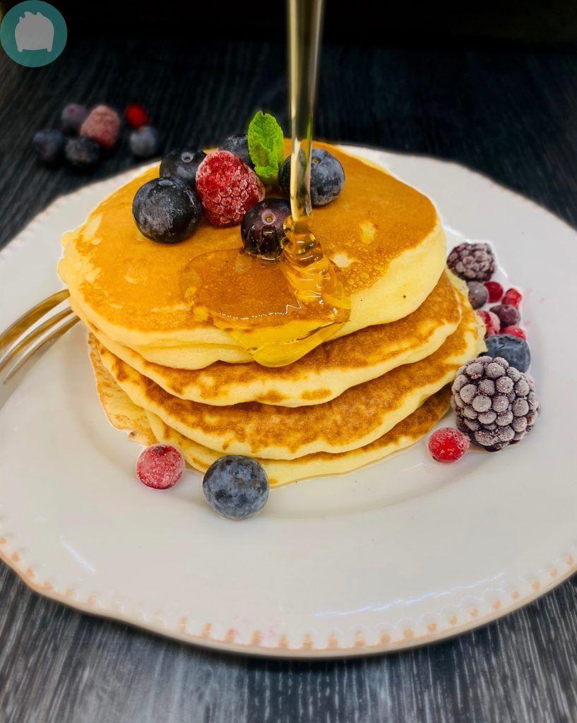 Pancakes sans lactose - Recette facile - EMNo_line ...